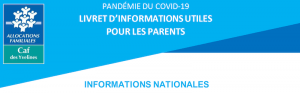 INFORMATIONS NATIONALES CAF des yvelines