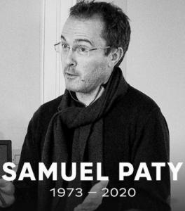 Message de Monsieur Bonsergent Proviseur du lycée en mémoire de notre collègue Samuel Paty