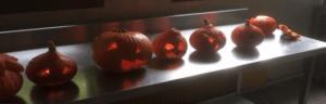 Halloween pour la classe de seconde CAP cuisine en apprentissage !
