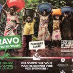 Une course contre la faim qui a permis de récolter la somme conséquente de 830 euros !