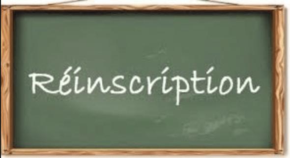 Read more about the article Procédure de réinscription 1ère et Terminale