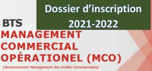 Read more about the article Dossier d'inscription BTS Management Commercial Opérationnel (MCO)